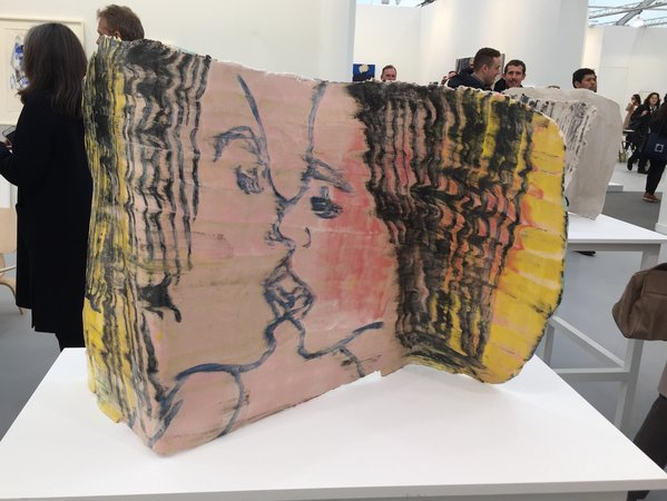 GHADA AMER Shivering 2015 Cheim and Read New York