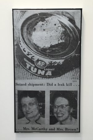 ANDY WARHOL Tuna Fish Disaster 1963 Craig F. Starr Gallery New York