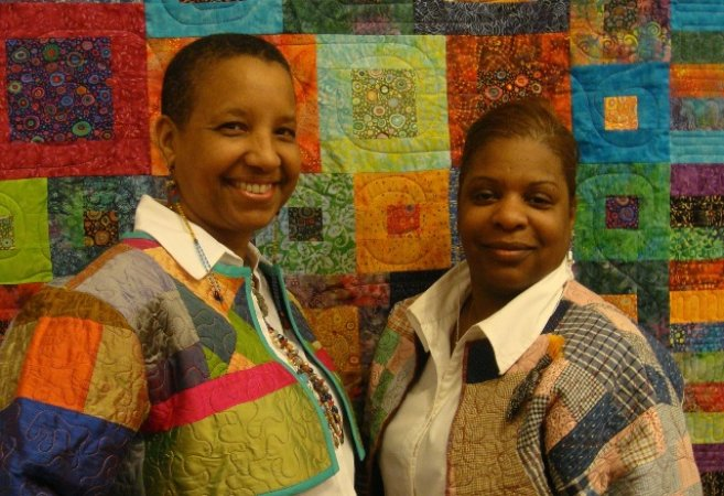 artists Laura R. Gadson and Shimoda of the harlem aesthetic