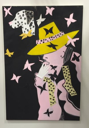 SOJOURNER TRUTH PARSONS Antony at Night With the Butterflies 2016 Tomorrow New York