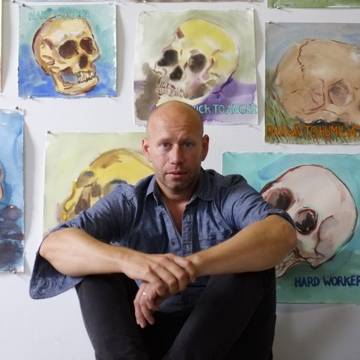 A Few Questions for Guy Richards Smit, the Skull-Painting Sitcom Star of the Art World