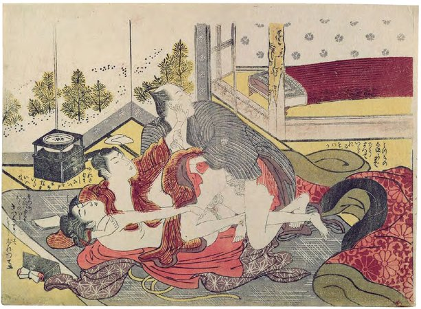 Japaneese erotic paintings — photo 9