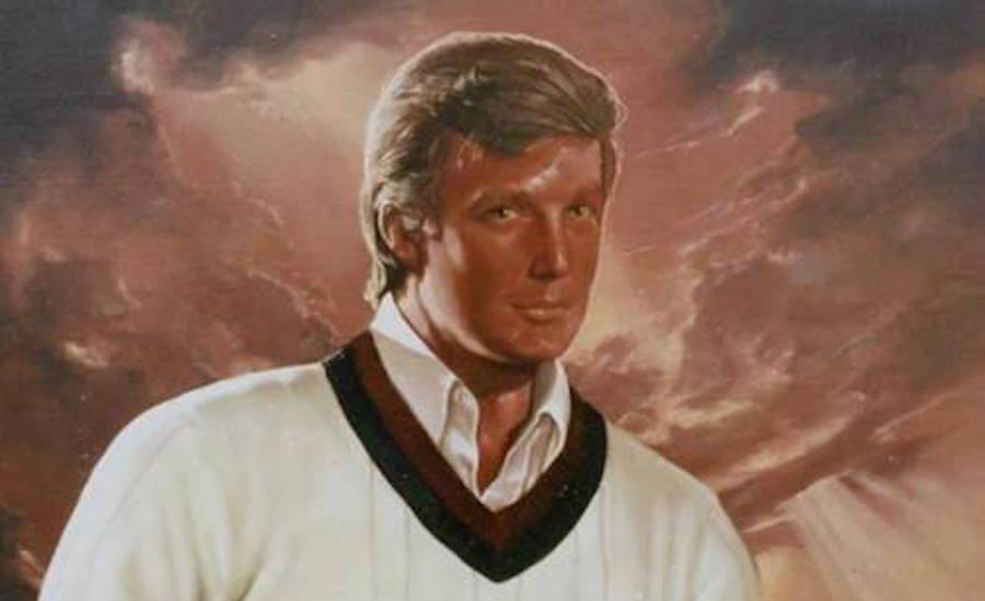 Donald Trump Metrolpolitan Museum Of Art Painting