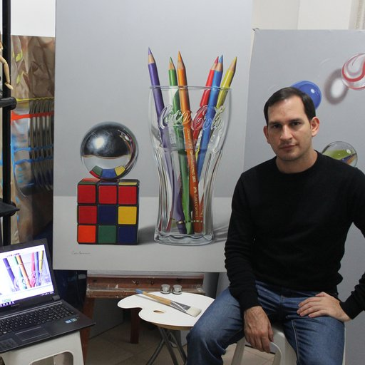 A Few Questions for Carlos Bruscianelli, the Venezuelan Painter Making Hyperrealism Cool Again