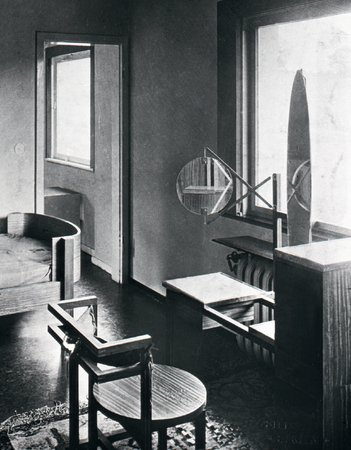 Dressing table and chair, Haus am Horn, 1923