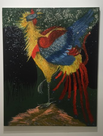 ALLISON KATZ Irish Cock (2016) at The Approach (London) at Art Basel