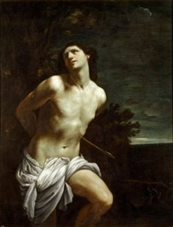 St. Sebastian by Guido Reni