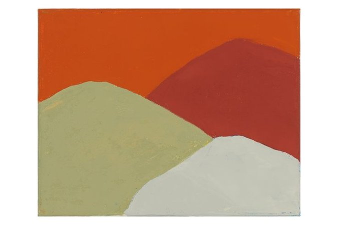 ETEL ADNAN Untitled (#213), 2013