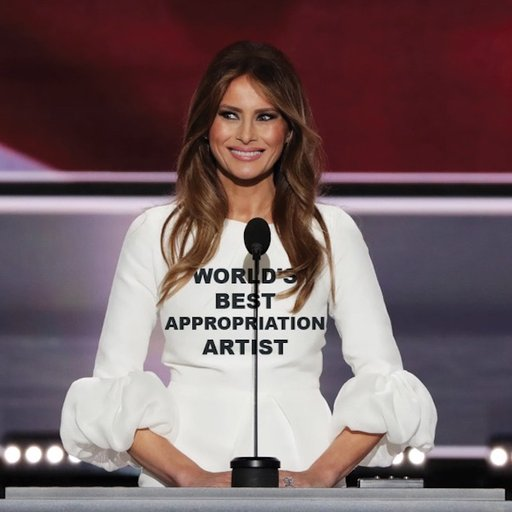 In Honor of Melania Trump: 5 Appropriation Works