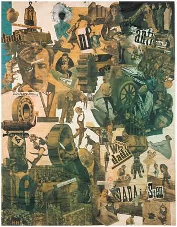 Cut with the Dada Kitchen Knife, by Hannah Höch