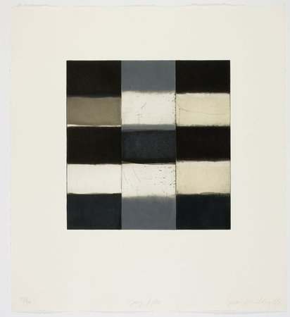 SEAN SCULLY Gray Robe, 2008