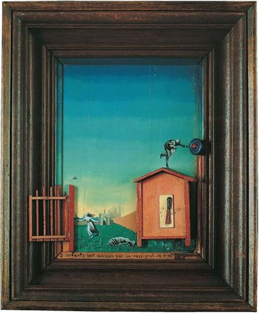 max ernst two children are threatened by a nightingale