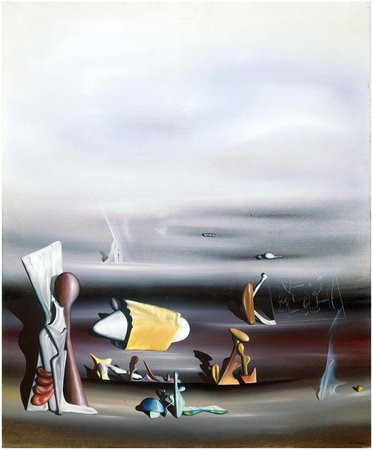 Yves Tanguy, To Construct and Destroy