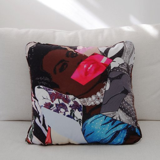 Invite Mickalene Thomas to Your Next Pillow Fight
