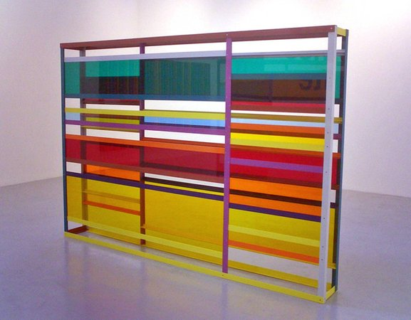 Liam Gillick's Big Conference Centre Limitation Screen, 1998
