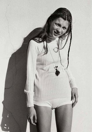 Corinne Day's Kate Moss, 1990