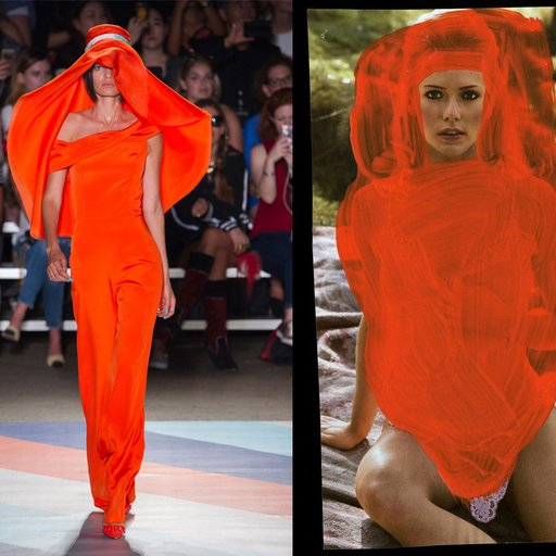 Who Wore it Better? See 13 Looks From Fashion Week and the Artworks They Uncannily Resemble