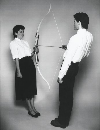 Rest Energy (with Ulay), 1980, Marina Abramovic