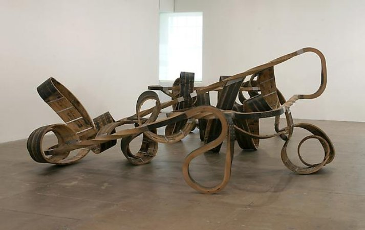 Richard Deacon's Red Sea Crossing, 2003