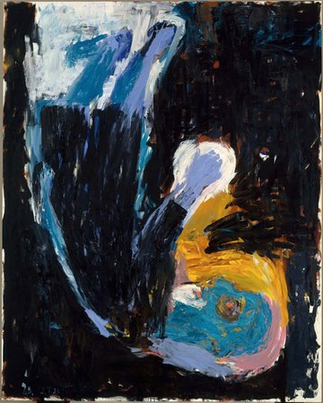 George Baselitz's Man of Faith, 1983