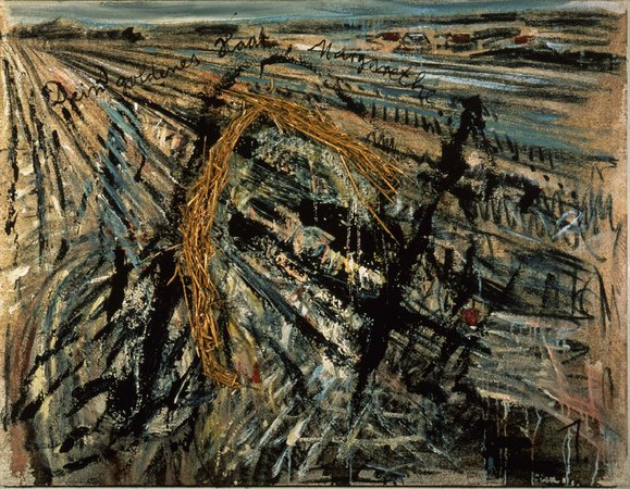 Anselm Kiefer's Your Golden Hair, Margarete, 1981