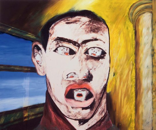 Francesco Clemente's Untitled, 1983