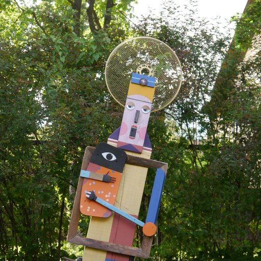 Cheerful Woodworker Martin Gerstenberger on How to Turn Street Scraps Into Street Art