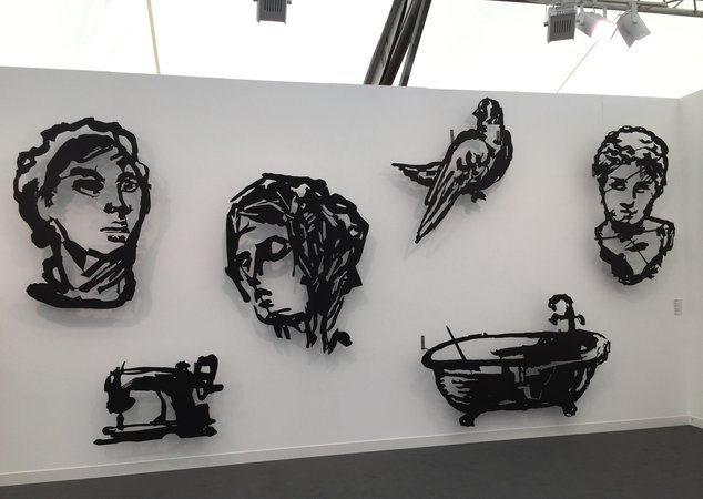 William Kentridge cutouts