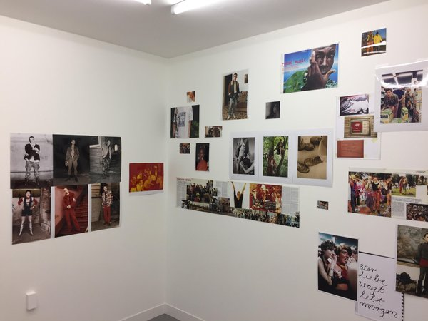 Wolfgang Tillmans wall