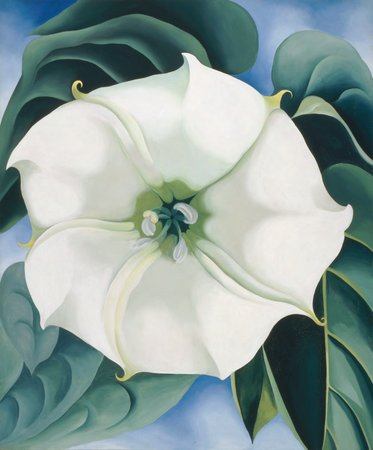 Georgia O'Keeffe, Jimson Weed/White Flower No. 1, 1932