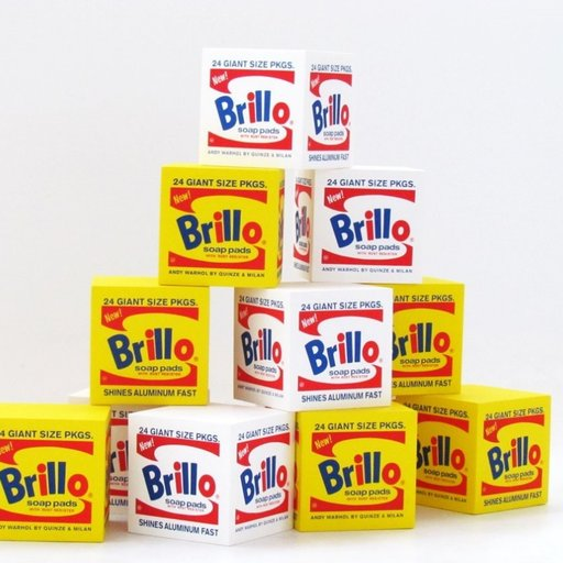 Go Ahead, Sit on This Famous Brillo Box