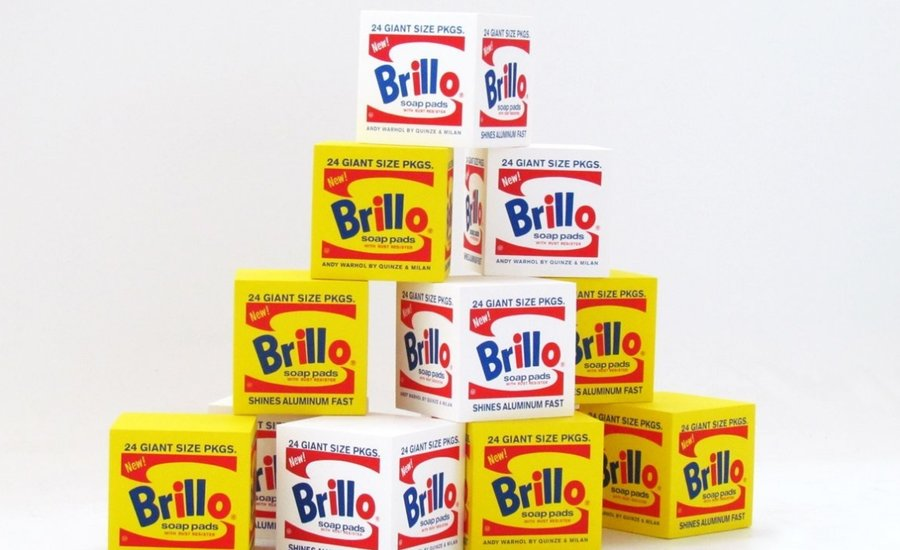 Go Ahead, Sit on This Famous Brillo Box (for $300)