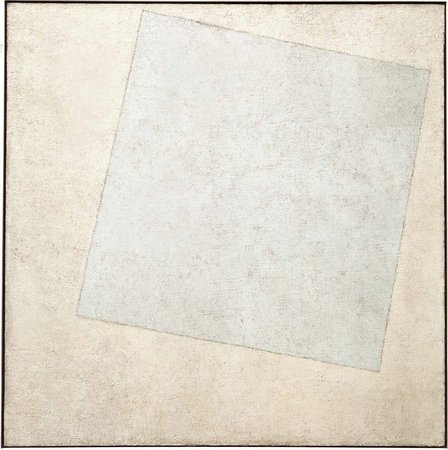 Kazimir Malevich, Supremist Composition: White on White, 1918