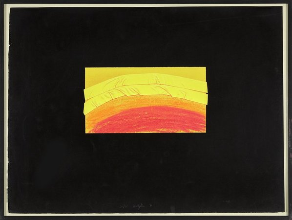 HOWARD HODGKIN Indian Views, 1971