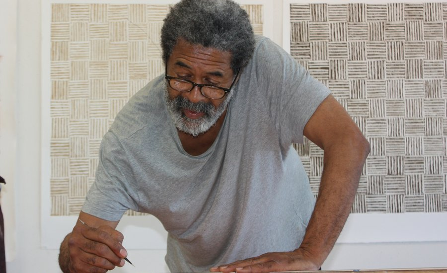 """I Made Myself Up!"": Painter McArthur Binion on Forging His Own Path in a White Art World"