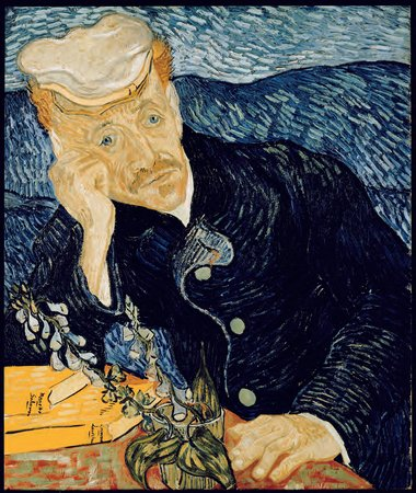 Vincent van Gogh, Portrait of Dr Gachet, 1890