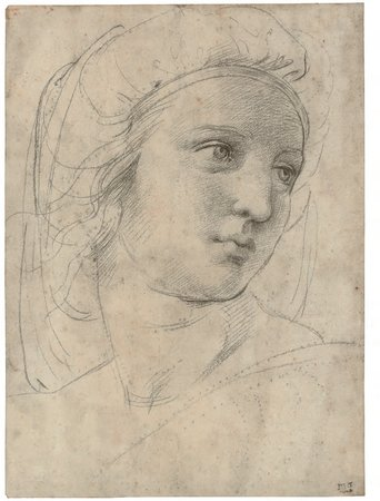 Raphael, Head of a Muse, c. 1510
