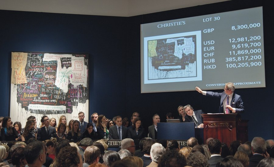 10 of the Most Epic, Record-Shattering Masterpieces Ever to Sell at Christie's Auction House