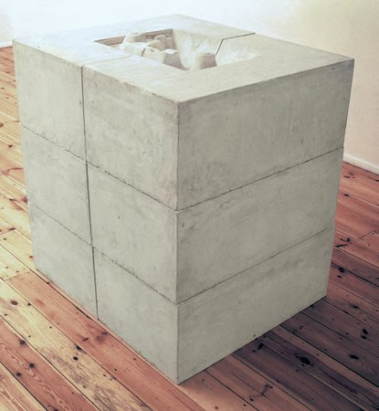Rachel Whiteread, Untitled (Square Sink), 1990
