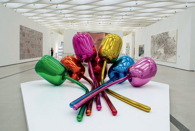 Jeff Koons, Tulips, 1994-2004