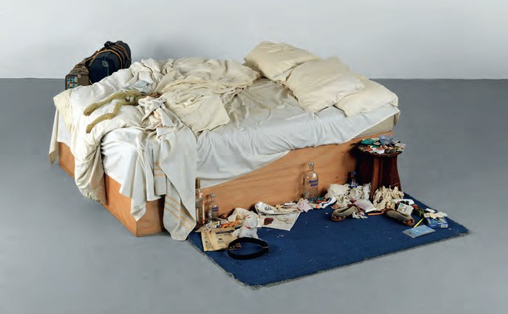 Tracey Emin, My Bed, 1989