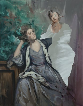 Ewa Juszkiewicz, Untitled (After Sir Joshua Reynolds), 2015