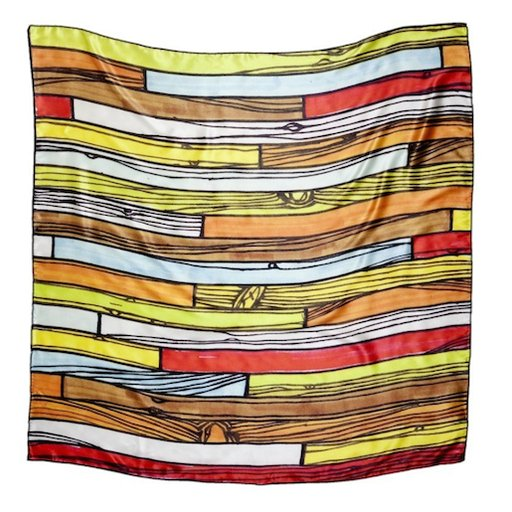 Art or Fashion? This Richard Woods Scarf Has Both