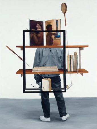 Sandra Gamarra, In Order of Appearance IX, 2012