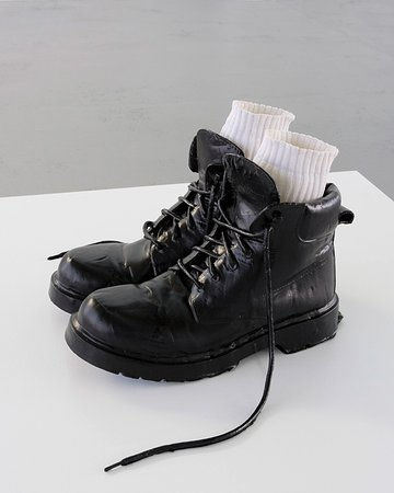 Monica Bonvicini, White Socks, 2009