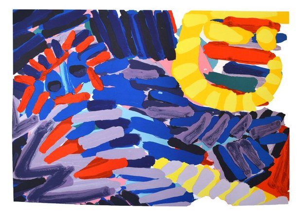 KAREL APPEL Ten by Appel Series #4, 1978