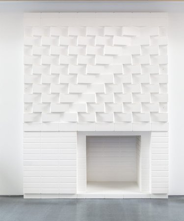Josef Albers and King-Lui Wu, Reproduction of Rouse Fireplace, 1955