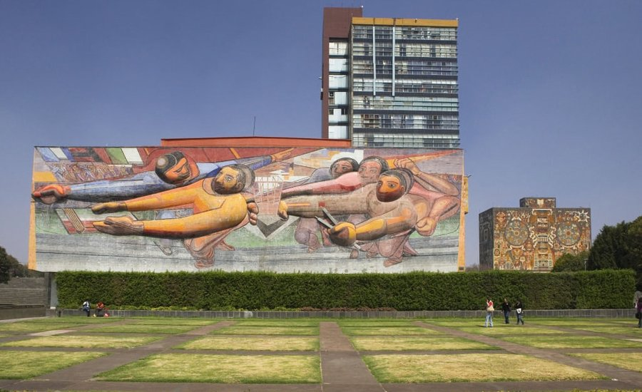 Technicolor Towers and the World's Largest Mural: Discover The Public Art of Mexico City