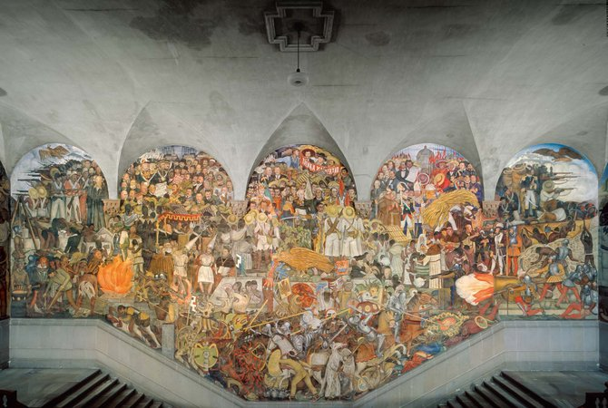 Diego Rivera, History of Mexico: From Conquest to the Future, 1929-30
