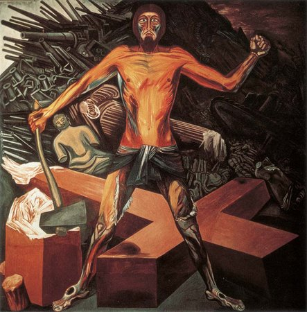 José Clemente Orozco, Modern Migration of the Spirit, 1932